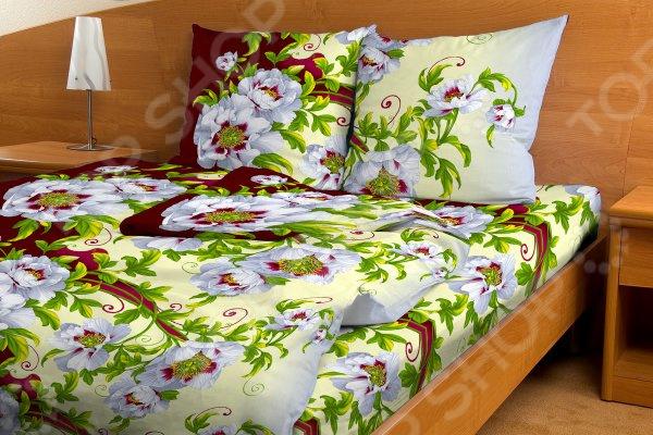 Комплект постельного белья Fiorelly «Вальс цветов». 1,5-спальный