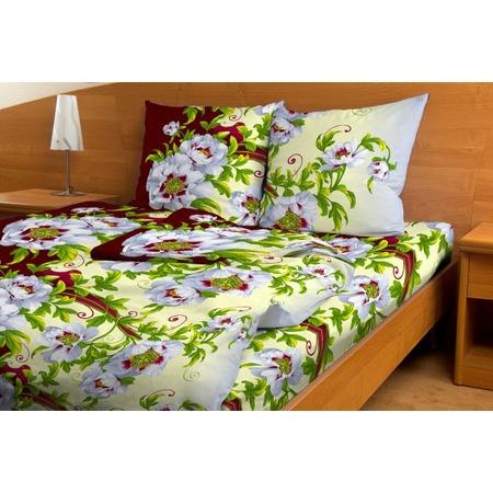 Купить Комплект постельного белья Fiorelly «Вальс цветов». 1,5-спальный