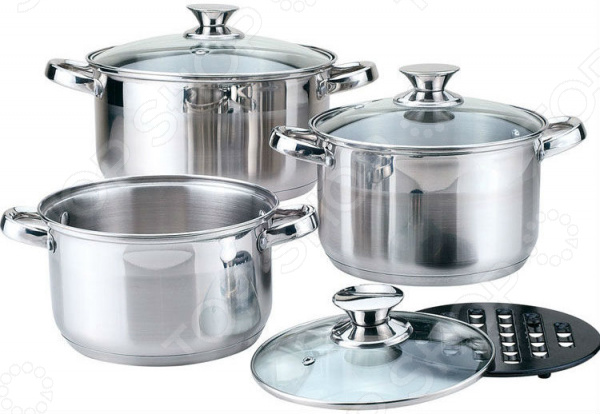 Набор посуды для готовки Bekker BK-1250