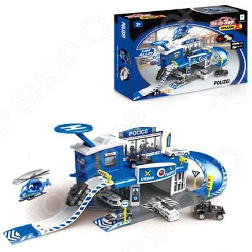 Набор игровой Наша Игрушка «Полиция» 637502 игровой набор наша игрушка полиция a505 11