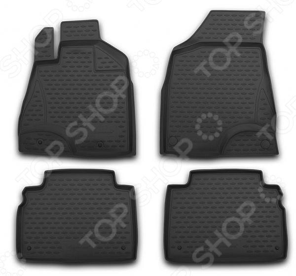 Комплект 3D ковриков в салон автомобиля Novline-Autofamily ГАЗ Газель Next 2013 газ 3302 2705 газель бизнес