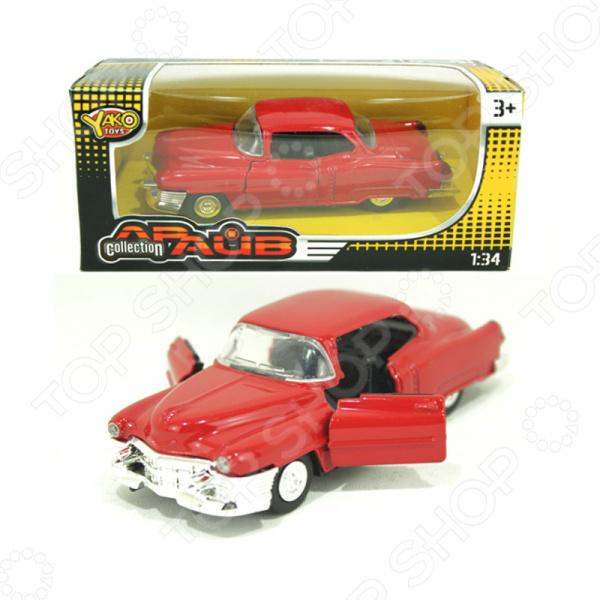 Модель автомобиля 1:32 инерционная Yako «Драйв» Collection 1724543. В ассортименте