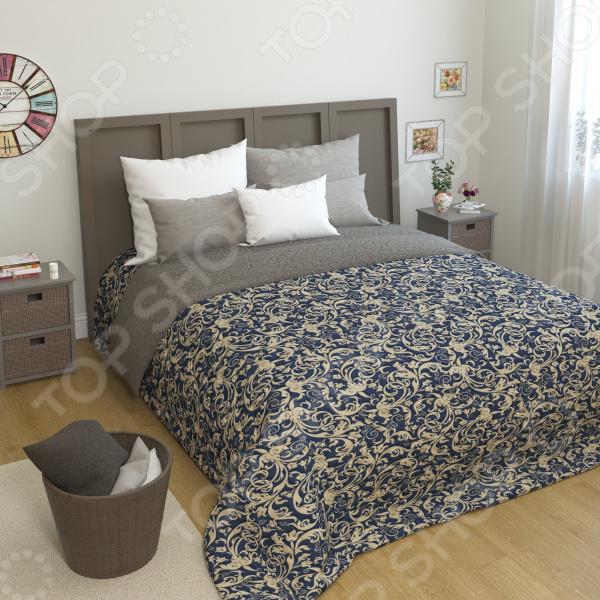 Покрывало стеганое Сирень «Изабель» желтое покрывало на кровать