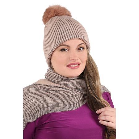 Купить Комплект шапка и шарф Electrastyle «Милано»