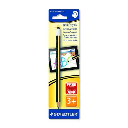 Купить Карандаш с наконечником для экрана Staedtler Noris Stylus 11920BK