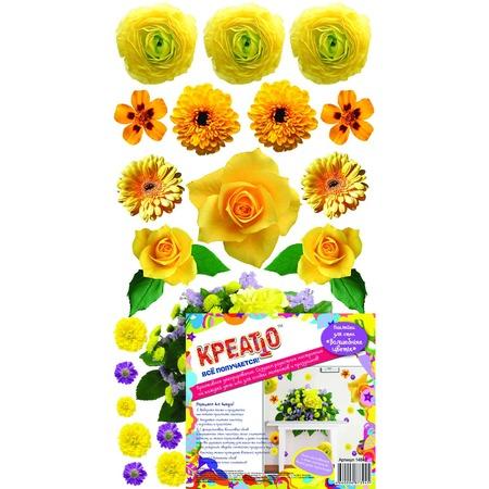 Купить Наклейка декоративная Креатто «Волшебные цветы»