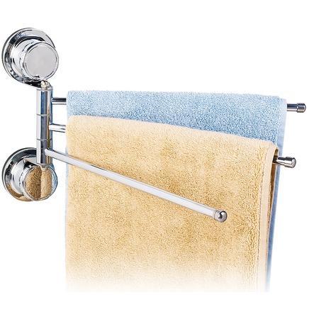 Купить Вешалка для полотенец Tatkraft Vacuum Screw Leopold