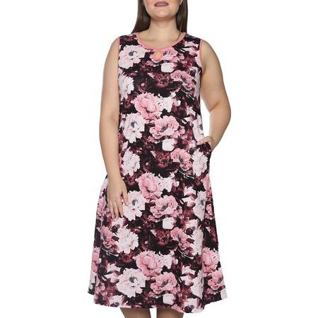 Купить Платье Алтекс «Солнечное тепло». Цвет: бордовый