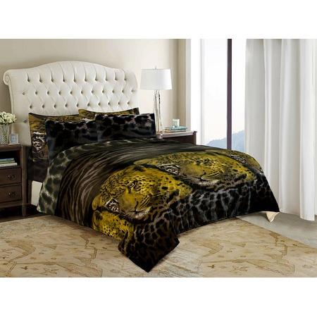 Купить Комплект постельного белья ОТК «Леопард». Евро