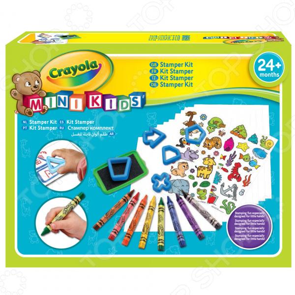 Набор развивающий для ребенка Crayola «Мой первый набор печатей»
