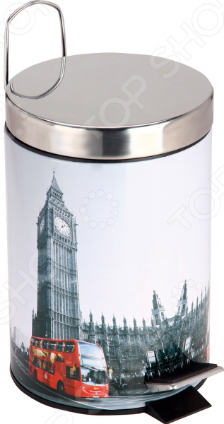 Ведро для мусора Рыжий кот «Лондон» DB-21