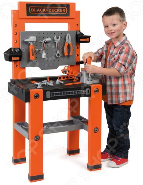 Игровой набор для мальчика Smoby B&D «Мастерская с инструментами»