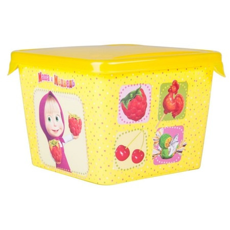 Детская емкость для хранения «Маша и Медведь» 0616009