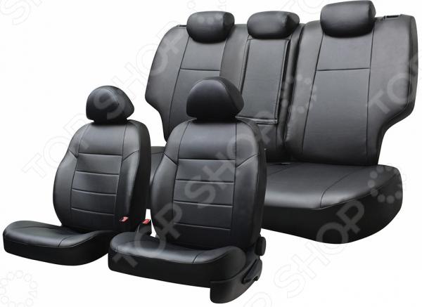 Набор чехлов для сидений Defly LADA Xray, 2015, экокожа