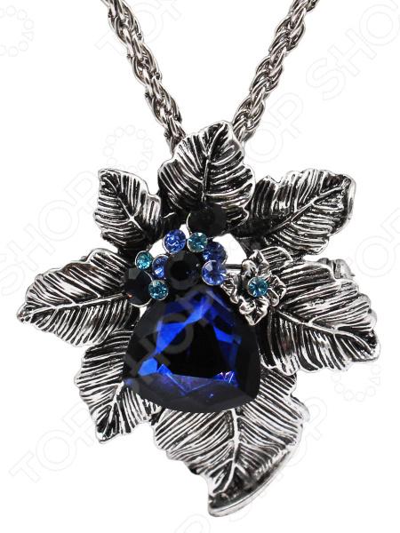 Брошь-кулон «Редкий цветок»