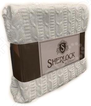 Плед вязаный Unison Sherlock. Цвет: молочный unison
