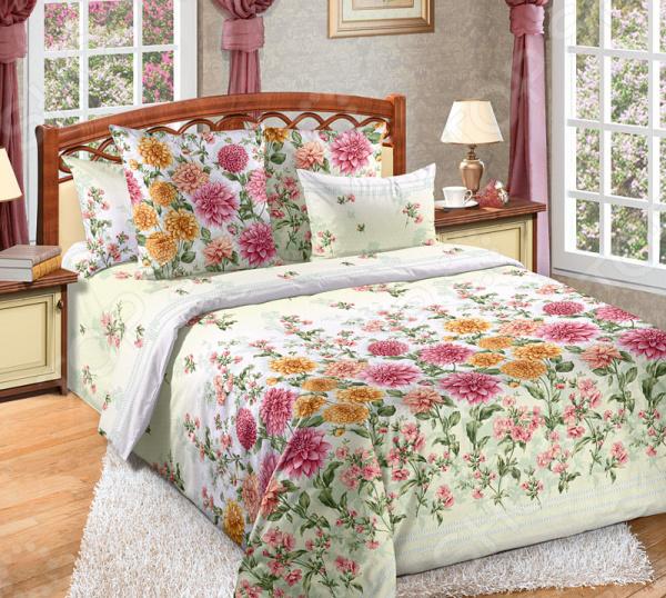 Фото Комплект постельного белья Белиссимо «Далия»