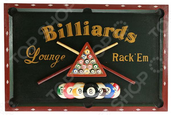 Коллаж настенный Billiards Lounge Rack'Em - артикул: 941025