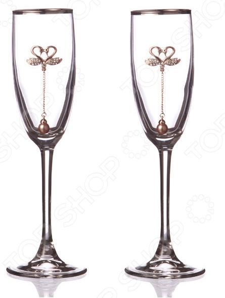 Набор бокалов для шампанского 802-651594 набор бокалов для бренди коралл 40600 q8105 400 анжела