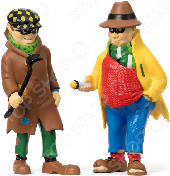 Набор кукол для домика Micki «Пеппи ДлинныйЧулок. Бандиты»