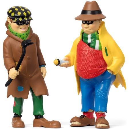 Купить Набор кукол для домика Micki «Пеппи ДлинныйЧулок. Бандиты»