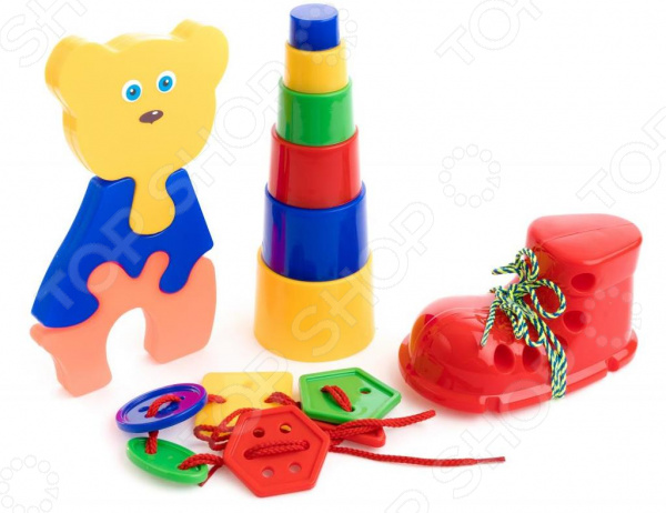 Набор развивающий для ребенка Пластмастер «Умник»