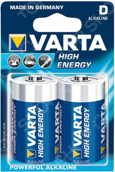 Элемент питания VARTA High energy В 2 шт. ipm h3o high quality hydrogen ion energy bars gold