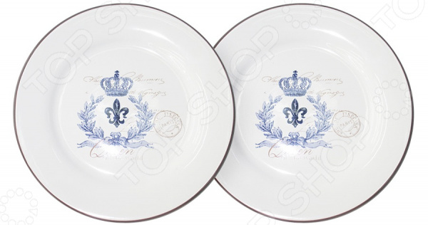 Набор десертных тарелок LF Ceramic «Королевский» салатник lf ceramic королевский диаметр 17 5 см