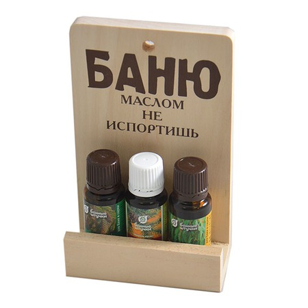 Купить Набор эфирных масел Банные штучки «Баню маслом не испортишь»