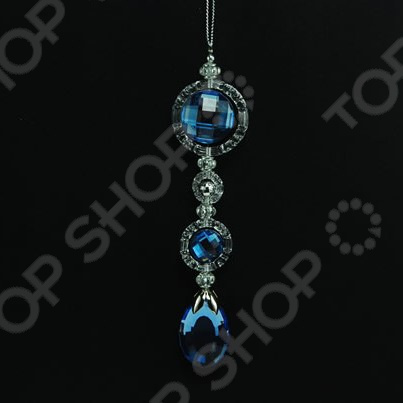 Новогоднее украшение Crystal Deco «Подвеска с камнями»