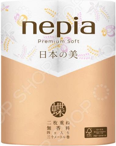 Туалетная бумага Nepia Premium Soft 269115
