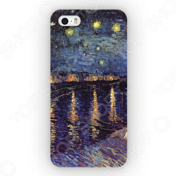 Чехол для iPhone 5 Mitya Veselkov «Ван Гог: Ночь над Роной» чехол для iphone 5 mitya veselkov ван гог ночь над роной