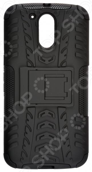 Чехол защитный skinBOX Motorola  G4 Plus