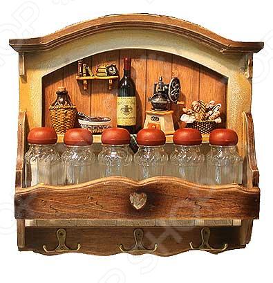 Коллаж-набор для специй «Винный погребок»