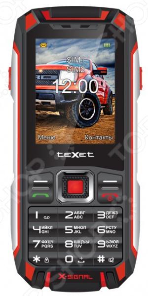 Мобильный телефон-рация защищенный Texet TM-515R