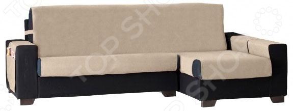 Накидка на угловой диван правосторонняя непромокаемая Медежда «Иден» накидка на кресло непромокаемая медежда иден