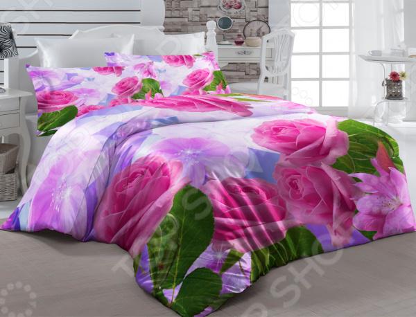 Комплект постельного белья ТамиТекс «Поцелуй» комплект постельного белья двуспальный tango twill 57 50