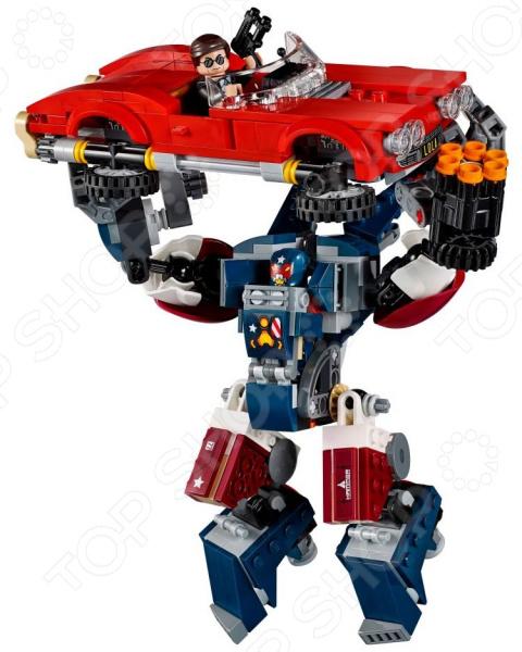 Конструктор игрушечный LEGO «Железный человек: Стальной Детройт наносит удар»