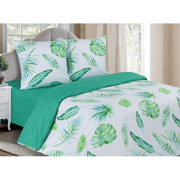 фото Комплект постельного белья Ecotex «Поэтика. Тропики». Размерность: семейное
