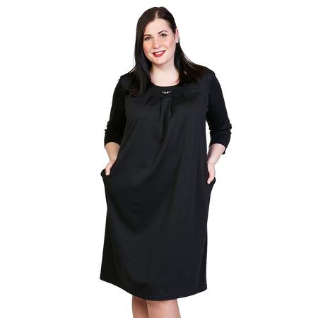 Купить Платье Лауме-Лайн «Счастливый взгляд». Цвет: черный