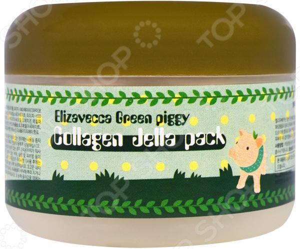 Маска для лица коллагеновая Elizavecca Collagen Jella Pack holika holika маска для лица ночная pig collagen jelly pack 80 г маска для лица ночная pig collagen jelly pack 80 г 80 г