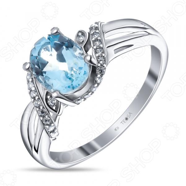 Кольцо «Дама сердца» R-DRGR00708. Лот № 02. Модель: топаз