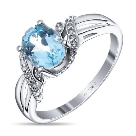 Купить Кольцо «Дама сердца» R-DRGR00708. Лот № 02. Модель: топаз
