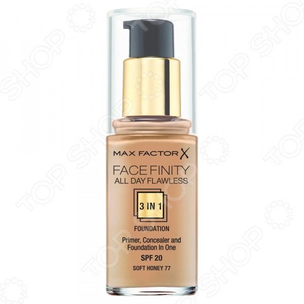 Тональная основа Max Factor Facefinity All Day Flawless 3-in-1 max factor facefinity all day flawless тональная основа 140 light ivory