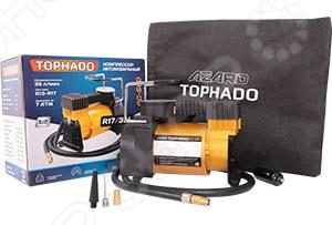 Компрессор автомобильный Azard TORNADO АС 580 компрессор для шин e74 auto 12v 150 psi