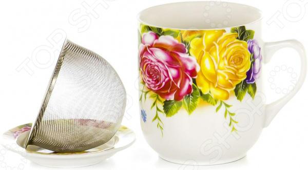 Кружка заварочная OlAff Mug Cover CM-MSCM-028 кружка заварочная olaff mug cover с ситечком 350 мл cm mscm 029