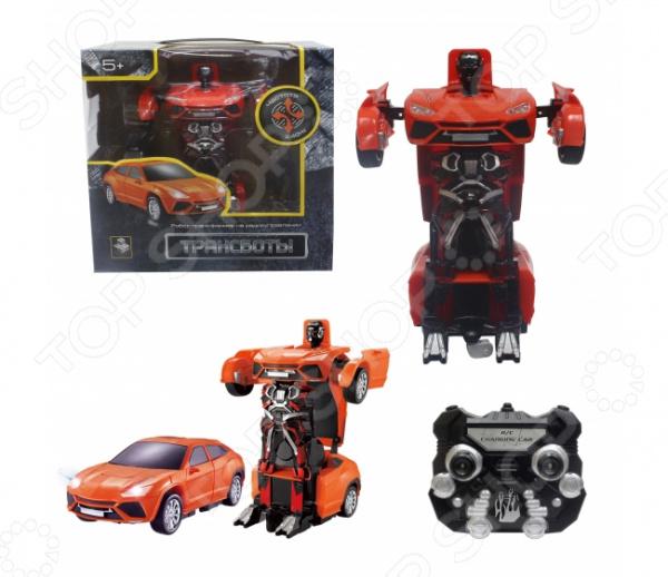 Игрушка радиоуправляемая 1 Toy «Робот-трансформер. Трансботы. Легковая машина»