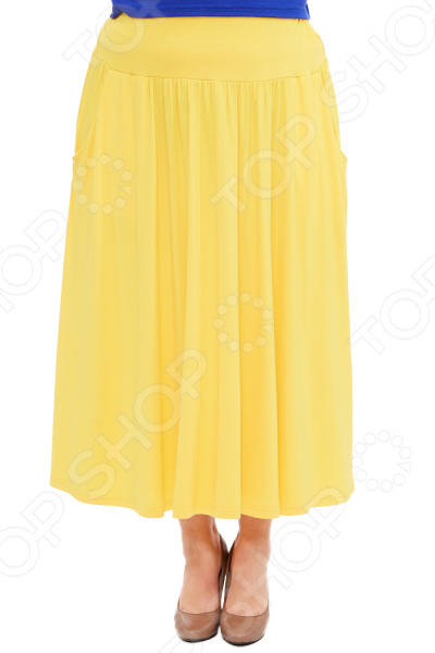 Юбка Laura Amatti «Изабелина». Цвет: желтый юбка laura amatti изабелина цвет бордовый