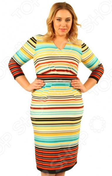 Платье Матекс «Морская прогулка». Цвет: мультиколор