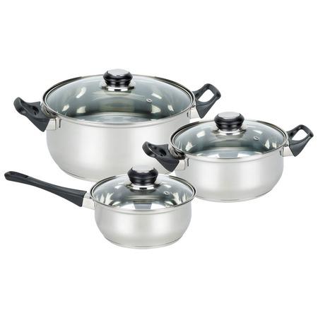 Купить Набор посуды «Серебряный мир». Количество предметов: 6